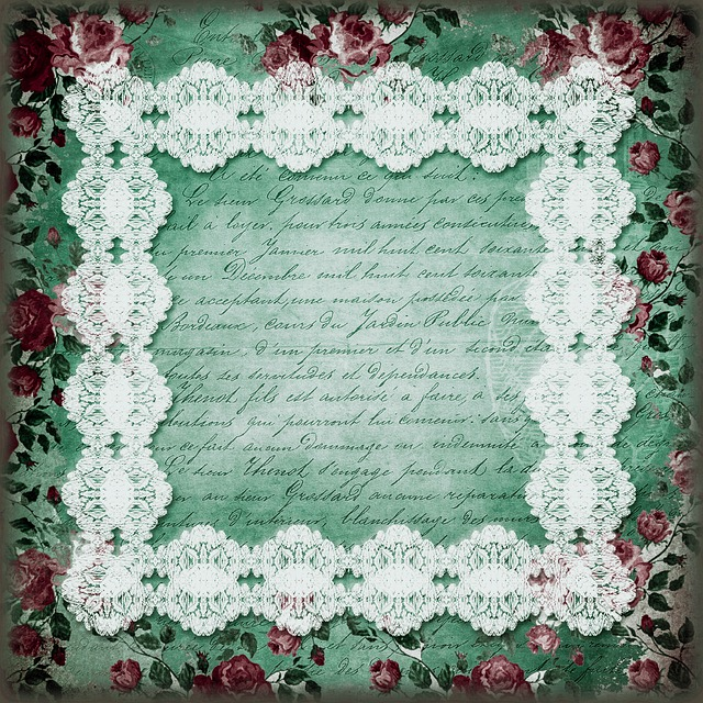 Ornament, Floral, Picture Frame, Flower, Retro, Wedding