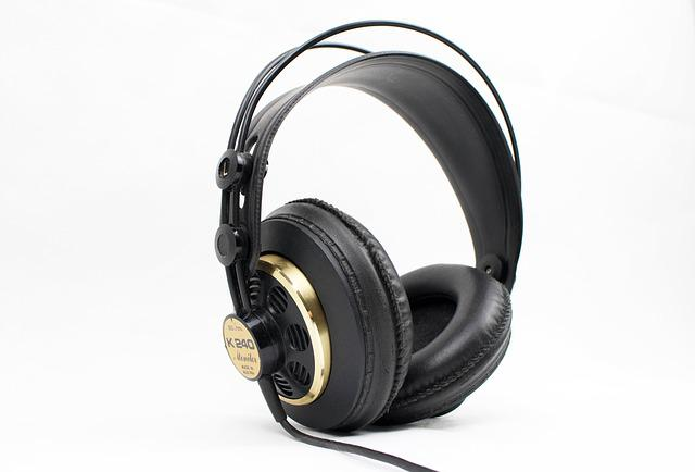 Headphones, Retro Headphones, Akg Headphones, Music