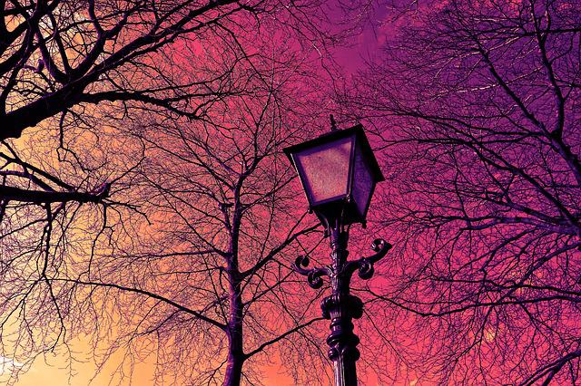 Lantern, Streetlamp, Lamppost, Retro, Light