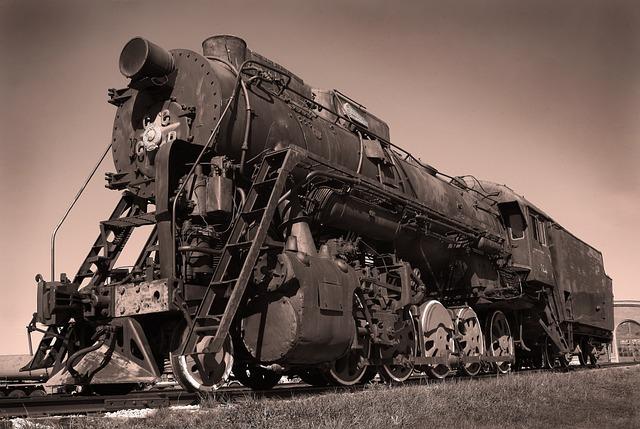 Retro, Steam Locomotive, Technique, Railway, Museum