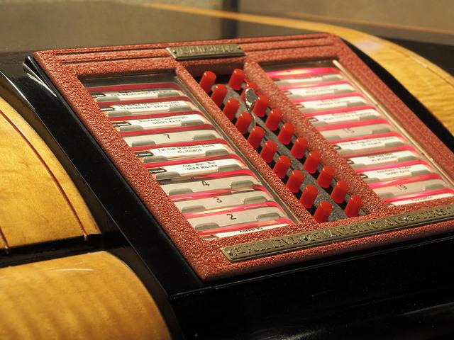 Music Box, Jukebox, Retro, Vintage, Music, Records
