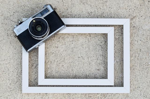 Frame, Old Camera, Film, Retro, Photograph, Photo