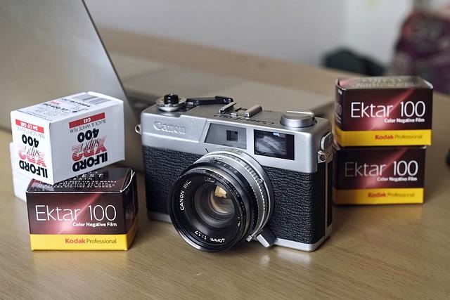 Camera, Old, Classic, Retro, Photo, Vintage