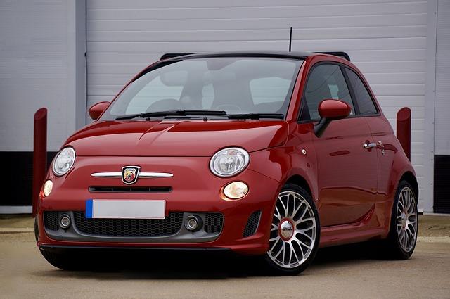 Fiat, 500, Car, Vehicle, Transport, Mini, Retro