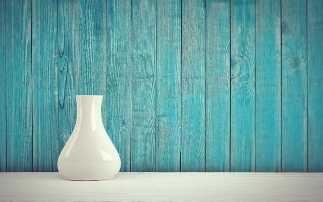 Vase, Vintage, Retro, Wall