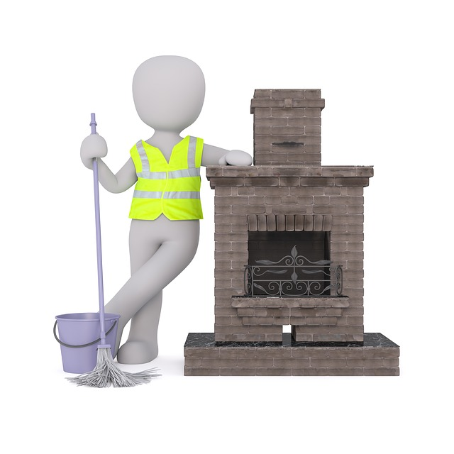 Eat, Fireplace, Chimney, Column, Sweep, Return, Patrol