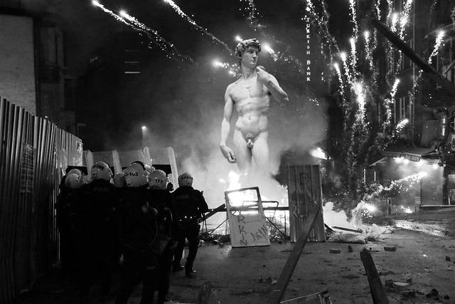Police, Event, Revolution, Resistance, Fight, Ruling