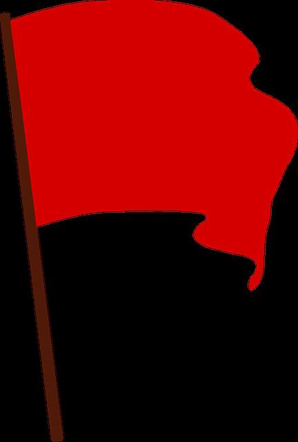 Communist, Flag, Protest, Red, Revolution, Socialist