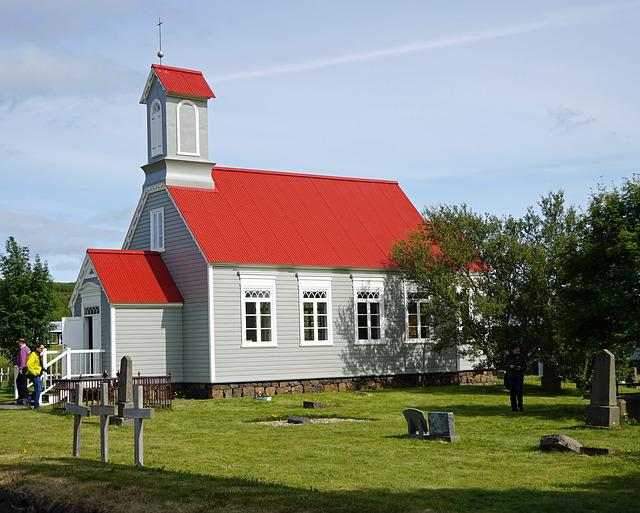Reykholt, Iceland, Church