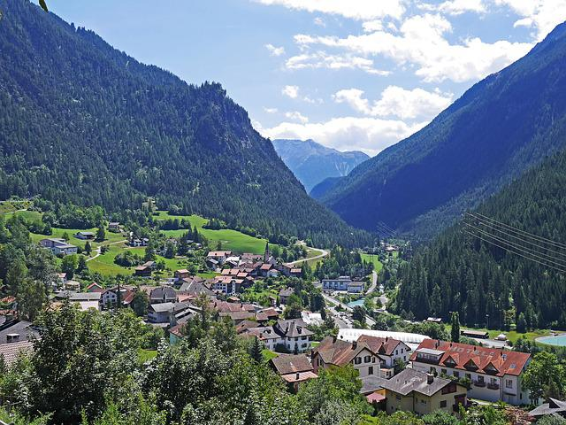Albula Valley, Switzerland, Graubünden, Rhätikon
