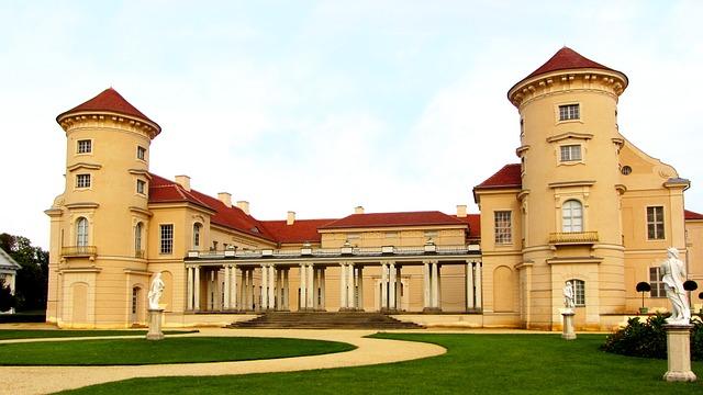 Rheinsberg Castle, Rheinsberg, Brandenburg