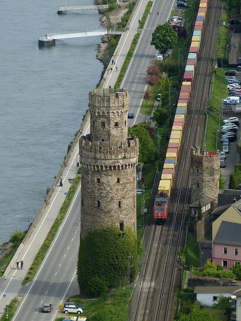 Oberwesel, Rhine, Middle Rhine, Germany, Weltkulturebe