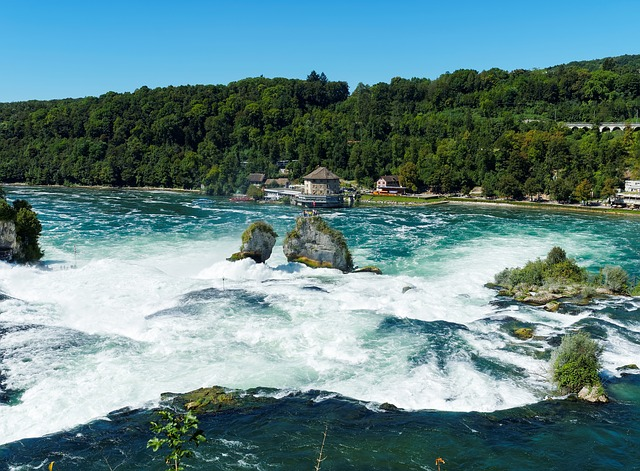 River, Water Courses, Falls, Rapids, Cascades, Rhine