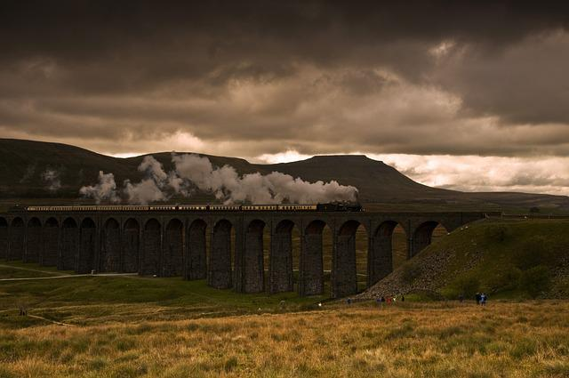 Ribblehead Viaduct, Steam Train, Jerico