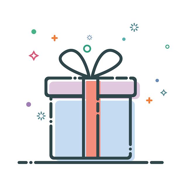 Birthday Gift Box Surprise Present Ribbon