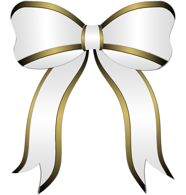 White Bow, Gift, Party, Bow, Ribbon, Holiday, Christmas