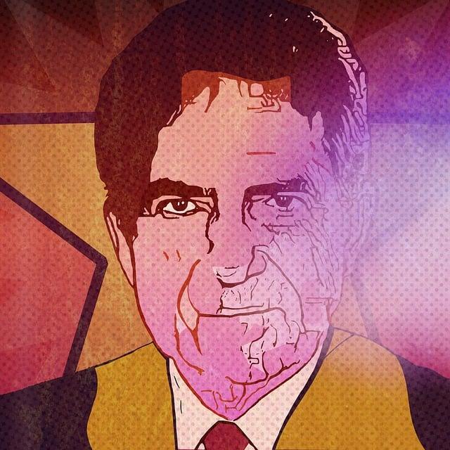 Richard Nixon, Pop Art, Portrait, Us President, Usa