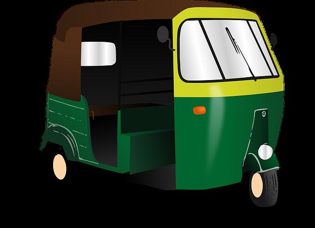Rickshaw, India, Transport, Taxi, Asian, Autorickshaw