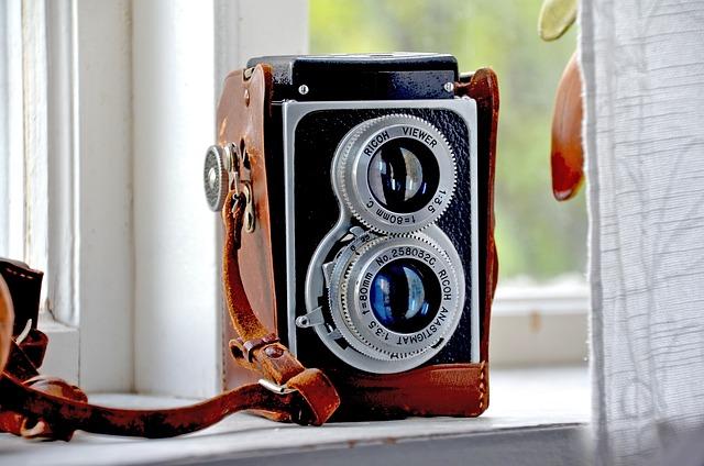 Camera, Retro, Ricoh, Old Camera