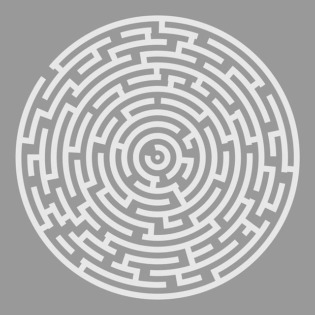 Maze, Puzzle, Riddle, Quiz, Labyrinth, Gray Puzzle