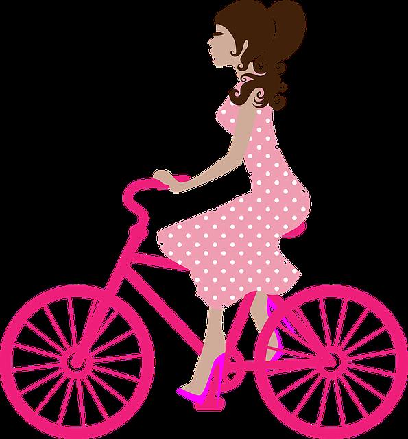 Bicycle, Bike, Female, Girl, Ride, Woman