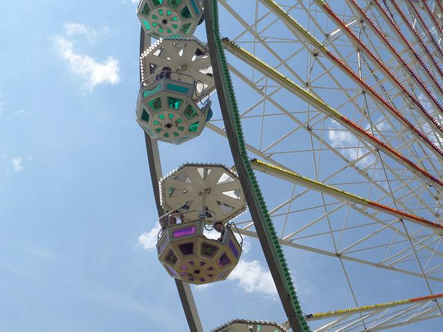 Ferris Wheel, Folk Festival, Ride, Carnies, Fairground