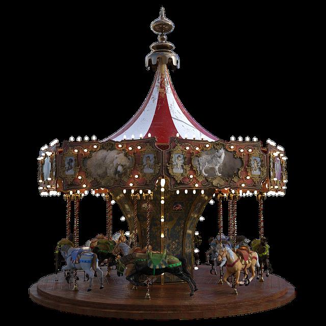 Carousel, Horses, Circus, Carnival, Entertainment, Ride
