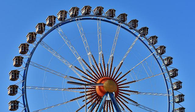 Oktoberfest, Ferris Wheel, Gondolas, Ride
