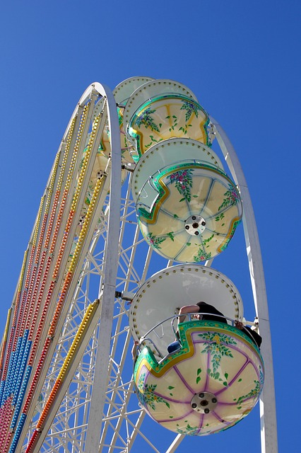 Ferris Wheel, Fair, Folk Festival, Year Market, Rides