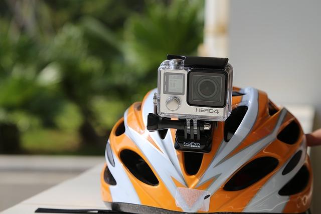 Gopro, Helmet, Riding