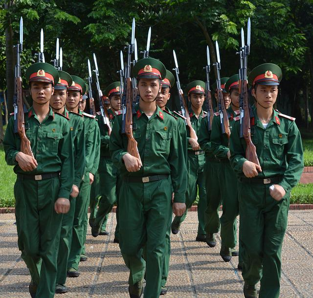 Soldiers, Army, Vietnam, Honor Guard, Power, Rifle