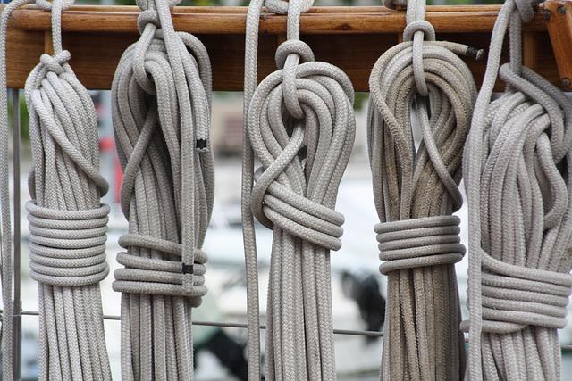 Rope, Boat, Sea, Rigging