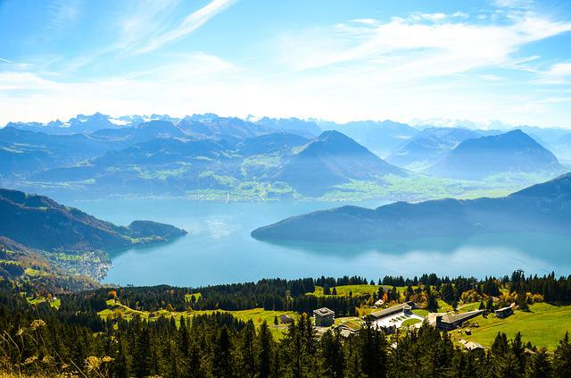 Alpine, Rigi, Rigi Kaltbad, Lake Lucerne Region