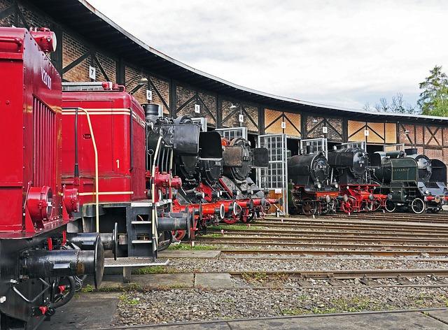 Railway Museum Heilbronn, Ring Lokschuppen, Track Star