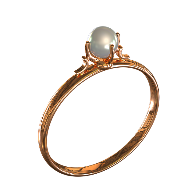 Ring With Pearls, Ornament