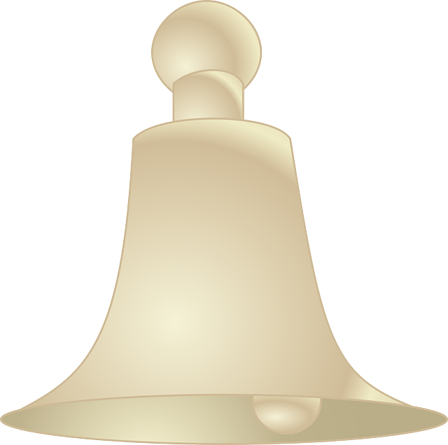 Bell, Church Bell, Ringing, Golden, Christmas, Xmas