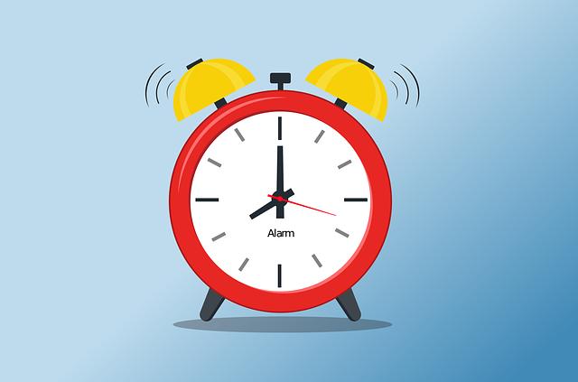 Alarm, Time, Flat, Wake Up, Sleep, Ringing, Old, Retro