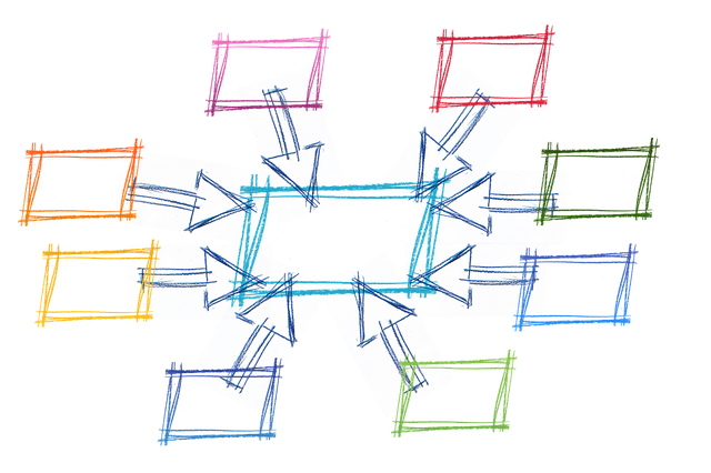 Network, Rectangle, Rings, Networking, Community
