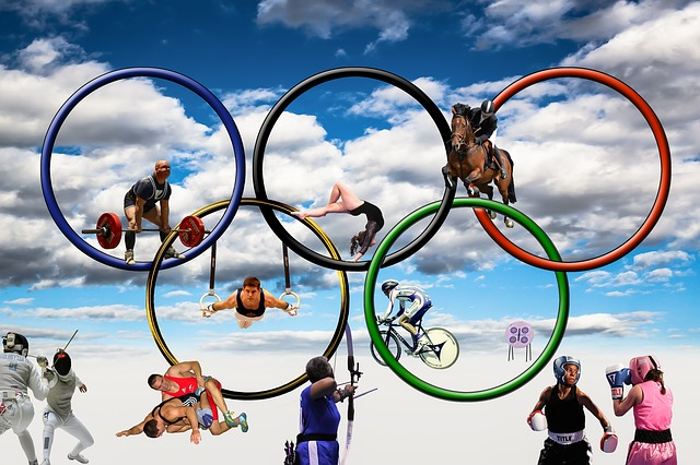 Olympia, Olympic Games, Summer Olympics, Sport, Rings