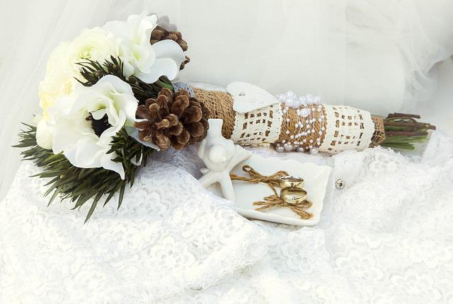 Flowers, Rings, Love, Romance, Wedding, Romantic