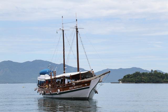 Rio De Janeiro, Angra Dos Reis, Brazilwood, Sailboat