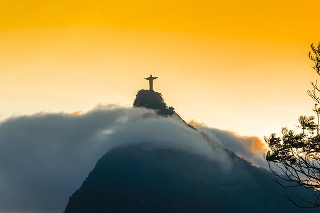 Rio, Rio De Janeiro, South America, Brazil, Corcovado