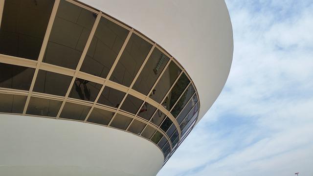 Brazil, Art Museum, Rio De Janeiro, Niemeyer, Niterói