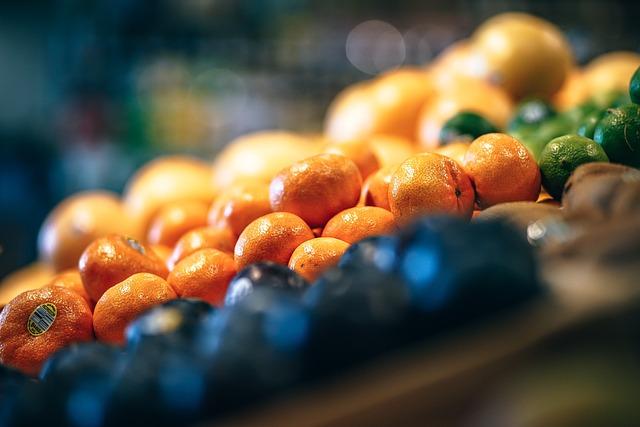 Tangerines, Fruit, Orange, Ripe, Market, Exotic, Food