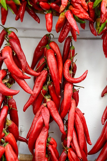 Red, Chili Peppers, Fruits, Ripe, Vegetables, Hot