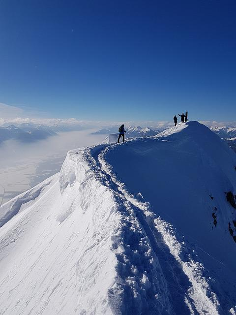 Snow, Winter, Mountain, Cold, Adventure, Ice, Rise