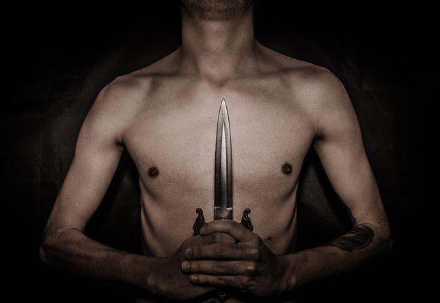 Dagger, Knife, Dark, Ritual, Sacrifice, Artistic