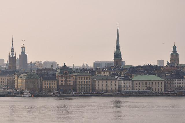River, Architecture, City, Building