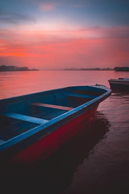 River, Sunrise, Water, Travel, Architecture, City