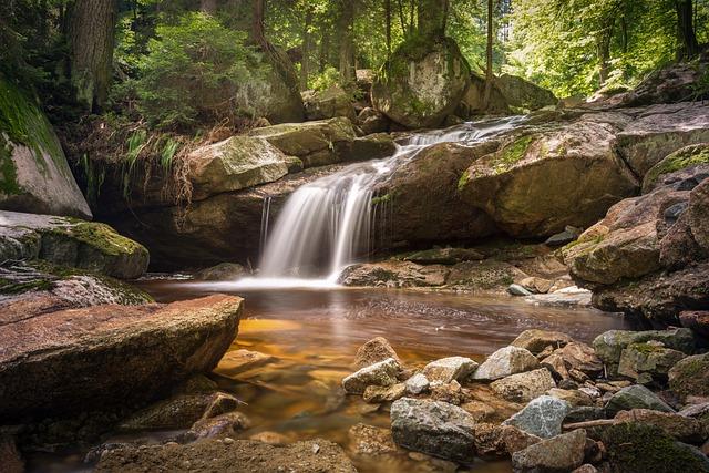 River, Bach, Long Exposure, Atmospheric, Water, Nature